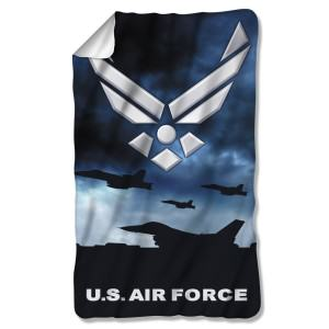 US Air Force Throw Blankets