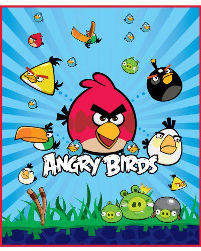 Angry Birds Throw Blankets - The Blanket Store