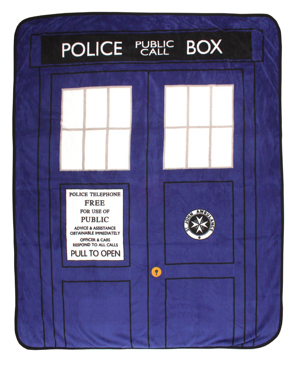 Dr. Who Throw Blankets