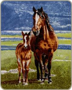 Horse Throw Blankets