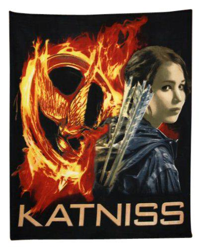 Hunger Games Throw Blankets