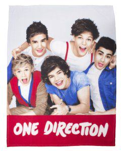 One Direction Throw Blankets