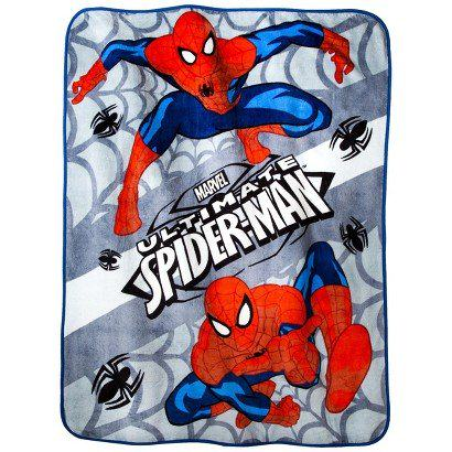 Spiderman Throw Blankets