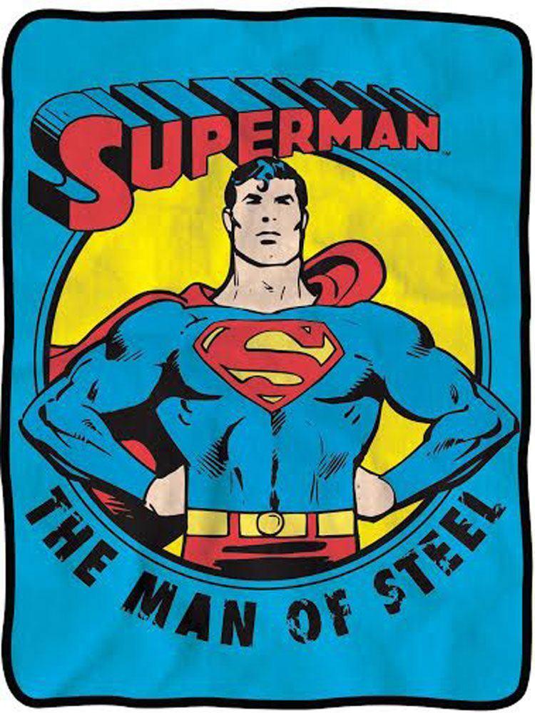 Superman Throw Blankets