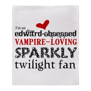 Twilight Saga Throw Blankets