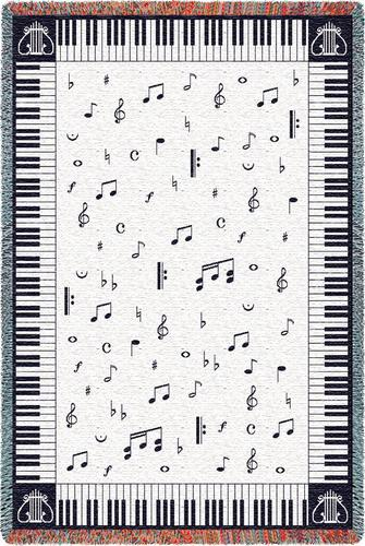 Music Inspired Throw Blankets