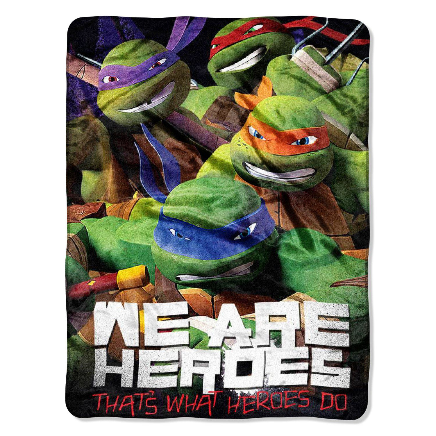 Teenage Mutant Ninja Turtles Blankets - The Blanket Store