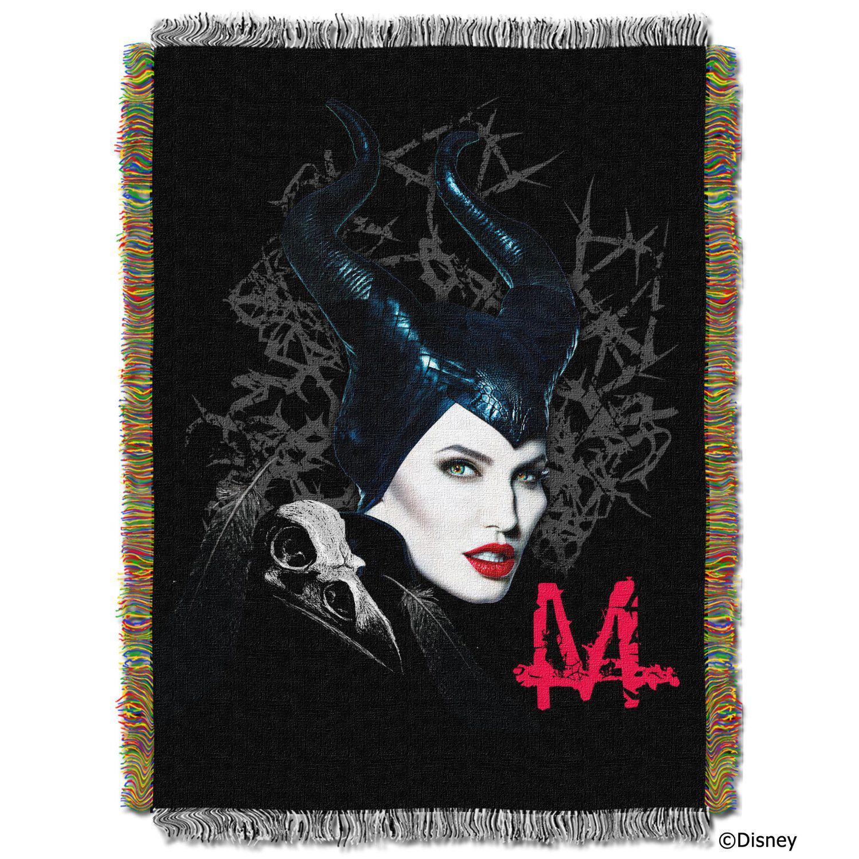 Disney Maleficent Throw Blankets