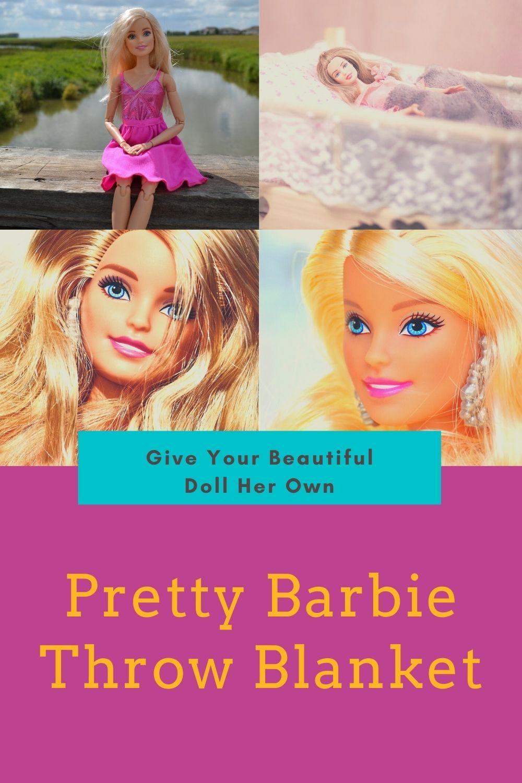 Barbie Throw Blanket