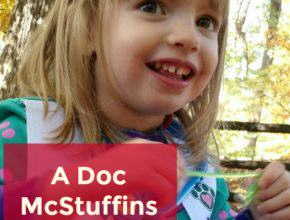 Doc McStuffins Blanket