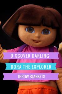 Dora The Explorer Throw Blankets