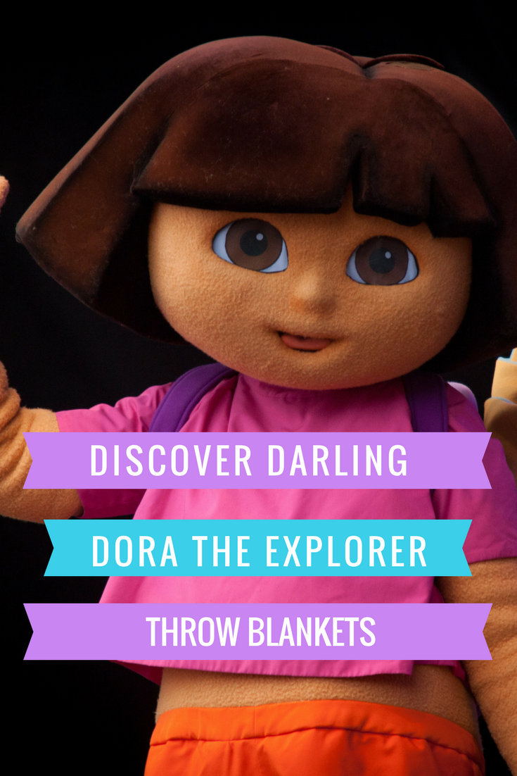 Dora The Explorer Throw Blankets