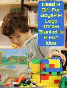 Lego Throw Blanket