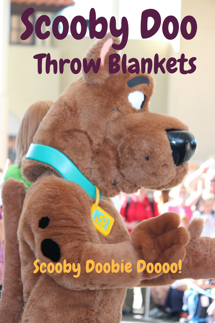 Scooby Doo Throw Blankets