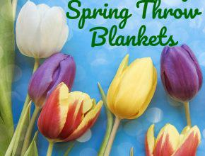 Spring Throw Blankets