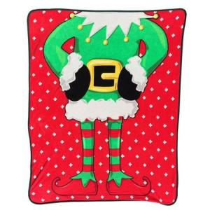 Ugly Christmas Throw Blankets